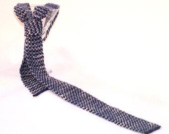 PDF Knitting Pattern Esquire Martini Handknit Necktie (Instant Download)