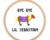 Lil Sebastian - Parks and Rec - Cross Stitch PATTERN