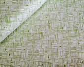 Cross Hatch in Green, from Star Landing by Jeanean Morrison and freespirit fabrics, You Choose Cut