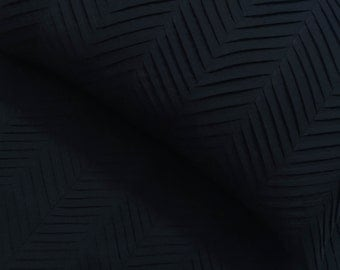charcoal grey zig zag pleated cal king size duvet cover  94x104 inches with 2 pillowsham cover