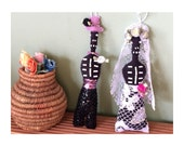 Wedding Bride Art Doll, Gift, Decoration, Gay Marriage, Marriage Equality, Mix-and-Match, Day of the Dead: Bride in Lace