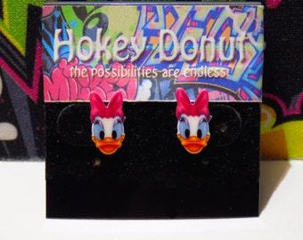 Disney Daisy Duck Stud Earrings