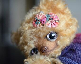 Yasmine artist mohair bear ooak