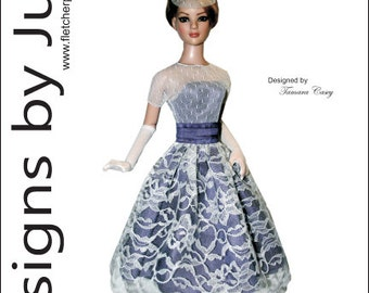"Prom Date Pattern for 22"" American Model Dolls Tonner"
