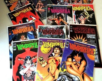 VENGEANCE OF VAMPIRELLA~Harris Comics~ 13 Issues Private Listing for Robin McClain