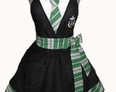 House Colors Retro Apron - Slytherin