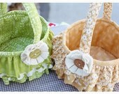 Ruffled Easter Basket Pattern by Sweetwater