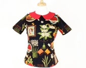 Frida Vintage Inspired Top