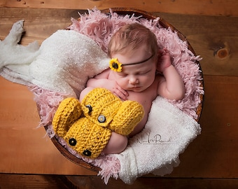 Crochet Baby Booties, Baby Ankle Boots, Crochet Booties, Baby Shoes In Mustard