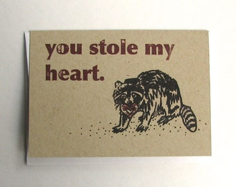 Thieving Raccoon Card