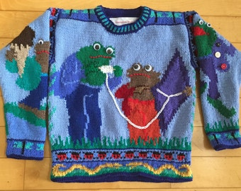Five/Six Year Frog and Toad Sweater