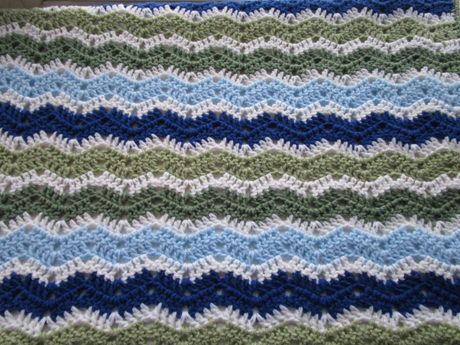 Crochet Patterns Easy Ripple Afghan