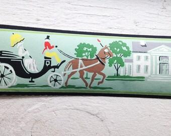 SALE- Vintage Trimz Wallpaper Border- Canterberry Lane