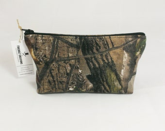 Camouflage Shaving Zipper Bag Toiltry Pouch Cosmetic
