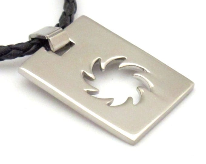Stainless Steel Sun pendant - MG001A