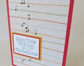 Birthday Masterpiece Music Themed Christian Card With Scripture