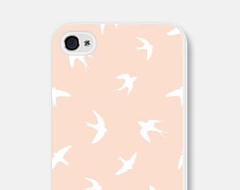 iPhone 6 Plus Case - Bird iPhone 6 Case - Bird iPhone 5 Case - Pink iPhone Case iPhone 5c Case Bird iPhone Case Samsung Galaxy S5 Case