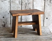 Oak Step Stool by Peg and Awl