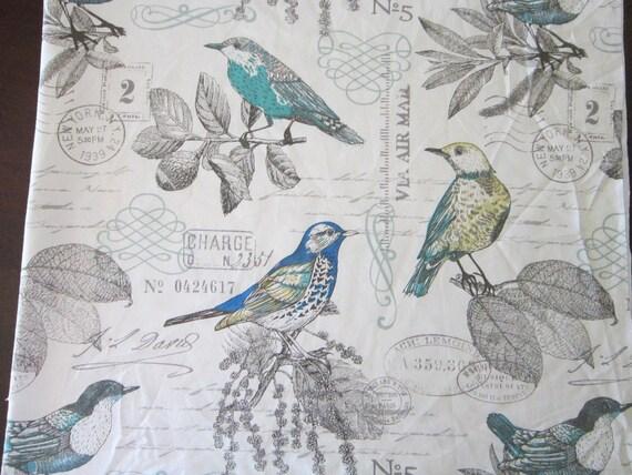 Vintage Fabric Bird 46