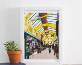 Brixton Village Print