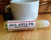 Perfume Oil - Hot Apple Pie perfume - Vegan perfume, apple perfume, pastry perfume, sweet perfume, fall perfume, autumn perfume, holiday