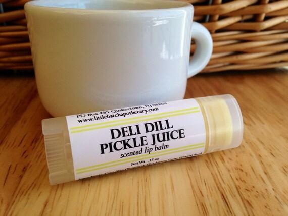 Lip Balm - Deli Dill Pickle Juice Lip Balm, dill pickle lip butter ...