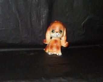 Vintage Japan INARCO Adorable Cocker Spaniel Puppy Dog Figurine