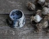 Small decorative ceramic vessel - raku