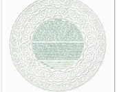Ketubah: Thou Art Mine IV