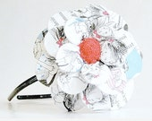 Day At The Plaza Daisy Paper Mache Headband