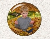 3.5 Inch Large Custom Personalized Pocket Mirror With Your Own Picture or Saying - Buy 3 Get 1 Free  010 PPLM