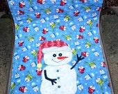 """Christmas Snowmen, Table Runner 16.5"""" X 38"""""""