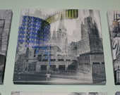 Marquette University - Milwaukee Photography Collage Print on Canvas