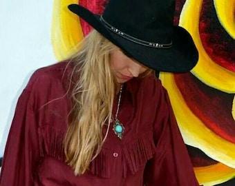 Eddy Brothers Buckhorn cowboy hat