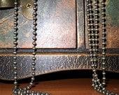 Bronze tone ball chain, necklace chain, bronze necklace chain chain for pendants pendant chain