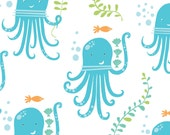 Monaluna Under the Sea, Octopus Party - sold by the yard