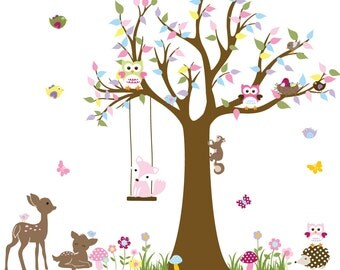 Wall decals nursery, children wall sticker, wall decals kid, baby nursery wall, kids wall art