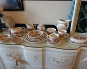 120 pc Fairwinds Old China Street by Alfred Meakin Canton 1852 Staffordshire England set