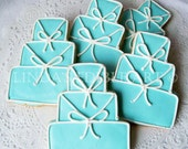 Something Blue Wedding Cake Cookie (1 Dozen)