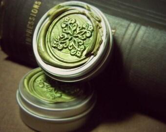 Single Note Solid Perfume Tin, Natural perfume, botanical perfume, artisan perfume, Solid Perfume, Perfume Tin