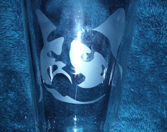 Grumpy Cat Glass