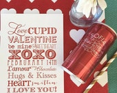 printable valentines - art print and valentines cards