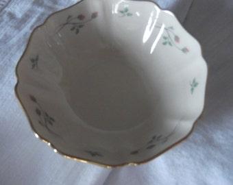 Vintage LENOX Floral Bowl