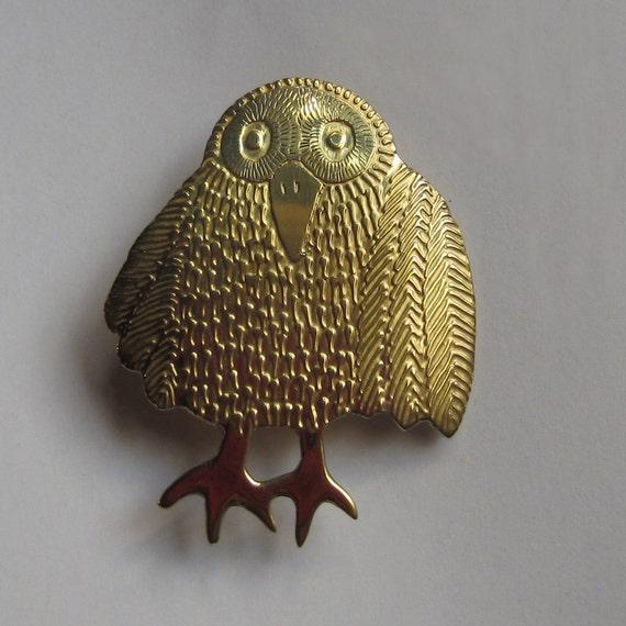 owl jewelery brooch handmade