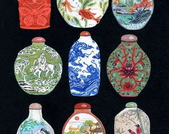 asian snuff bottles