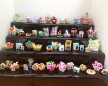 Dolls House Miniatures - Easter Chocolate Bunnies and Eggs (4 variations) - NEW SPRING 2015