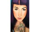 True Beauty - Danielle St Laurent - Severin Stargher  -  By Toronto Portrait Artist Malinda Prud'homme
