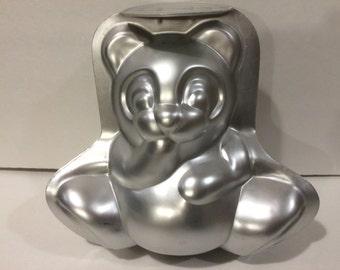Vintage Wilton 3D Bear Cake Mold