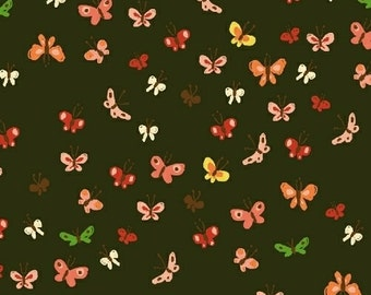 SALE butterflies in mud from the Tiger Lily collection by Heather Ross