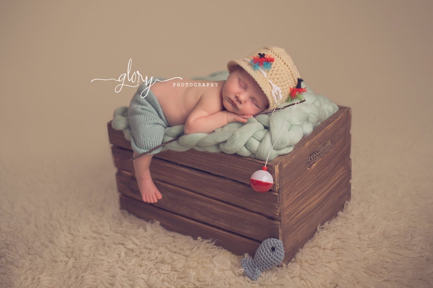 Baby boy fishing set outfit infant outfit newborn fishing for Baby fishing outfit